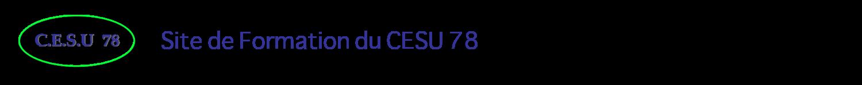 Site de formation du CESU 78